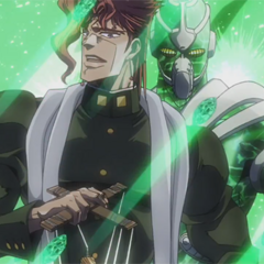 Kakyoin with his Stand <a href=