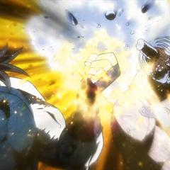 Desperation attack fails as Joseph destroys his horn