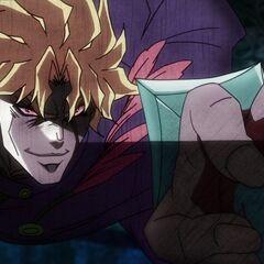 Dio, now a vampire, faces Jonathan