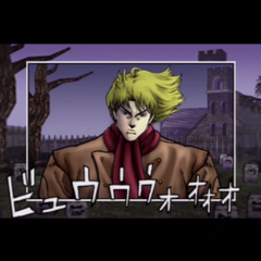 Dio, 13 years old, scowling over <a href=