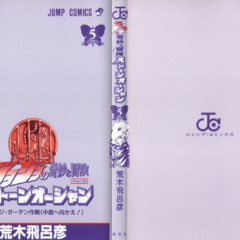 The cover of Volume 5 without the dust jacket