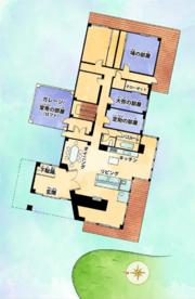 Higashikata House Map