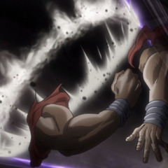 Avdol sacrifices his life protecting Polnareff from <a href=