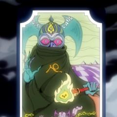 Tarot card representing The Devil