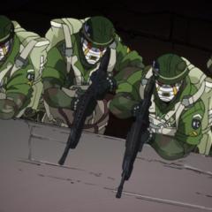 Bad Company prepares an ambush attack.