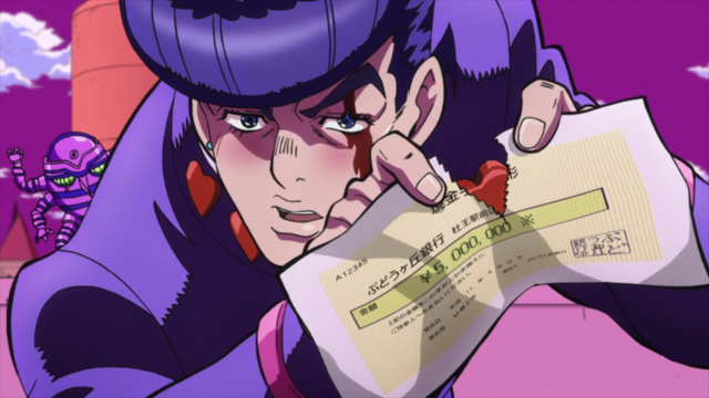 File:Josuke tears the check.png