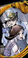 Jotaro and Wife