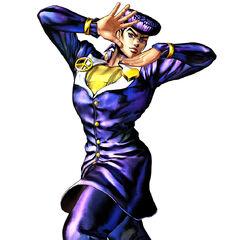 Josuke's render in <i><a href=