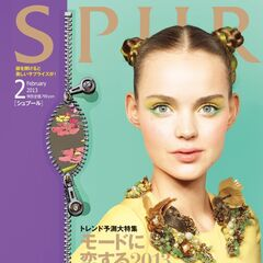 Feburary 2013 Issue of Spur designed by Araki