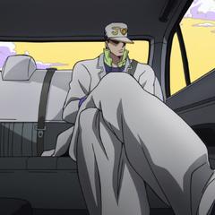 Jotaro travels to <a href=