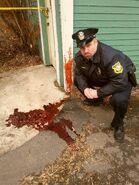 Clayton crime scene