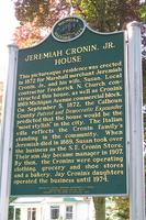 Cronin House marker