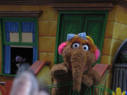 The Count and Alice Snuffleupagus