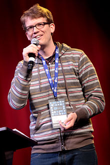Hank Green by Gage Skidmore