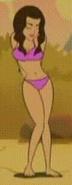Sumi in a bikini