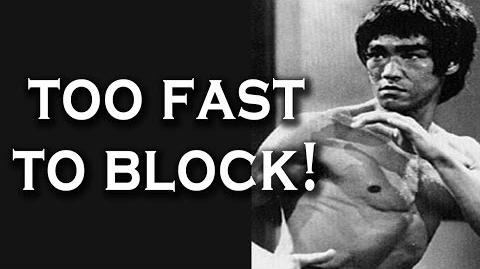 Bruce Lee Literally Punched Too Fast To Block (Unstoppable Punch)