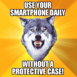 Courage Wolf Smartphone