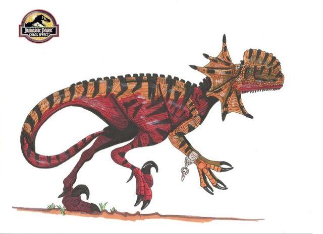 File:671px-Jp Chaos Effect Dilophoraptor by hellraptor.jpg