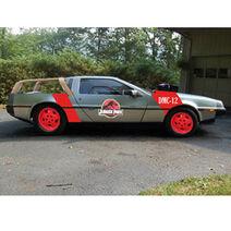 Jurassic Park DeLorean