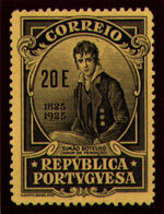 Portugal 1925 Birth Centenary of Camilo Castelo Branco ae