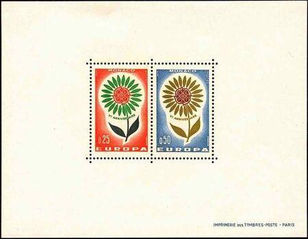 Monaco 1964 Europa c