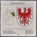 Germany, Federal Republic 1992 Coat of Arms of the Federal States of Germany (1st Group) d