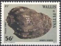 Wallis and Futuna 1985 Sea Shells e