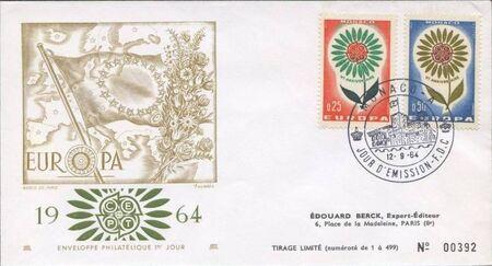 Monaco 1964 Europa k