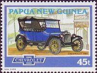 Papua New Guinea 1994 Classic Cars b