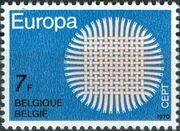 Belgium 1970 Europa b