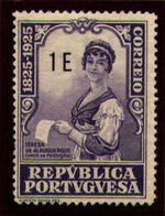Portugal 1925 Birth Centenary of Camilo Castelo Branco u