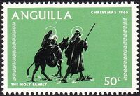 Anguilla 1968 Christmas e