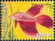 Azerbaijan 2002 Aquarian Fishes a