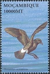 Mozambique 2002 Sea Birds of the World e