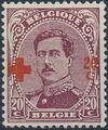 Belgium 1918 King Albert I (Red Cross Charity) f.jpg