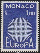 Monaco 1970 Europa c