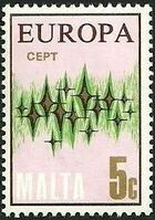 Malta 1972 Europa c