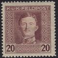Austria 1917-1918 Emperor Karl I (Military Stamps) i.jpg