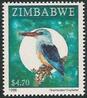 Zimbabwe 1998 Birds d