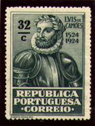 Portugal 1924 400th Birth Anniversary of Camões m