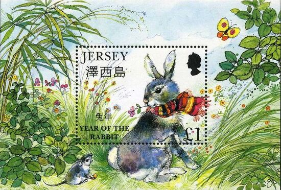 Jersey 1999 Year of the Rabbit g