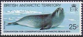 British Antarctic Territory 1982 10th Anniversary of Convention for Conservation of Antarctic Seals e
