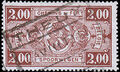 Belgium 1941 Railway Stamps (Numeral in Rectangle IV) k.jpg