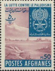 Afghanistan 1962 Malaria Eradication h