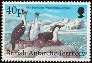 British Antarctic Territory 1998 Birds h