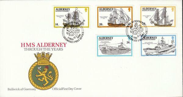 Alderney 1990 Ships Called HMS Alderney h