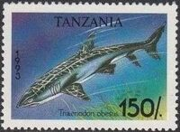 Tanzania 1993 Sharks f