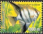 Azerbaijan 2002 Aquarian Fishes c