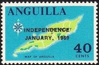 Anguilla 1969 Independence j