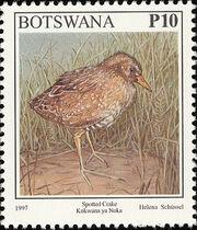 Botswana 1997 Birds r